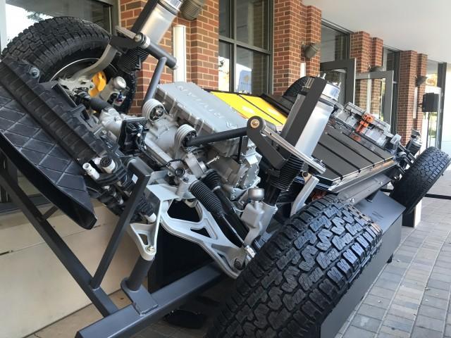 Rivian showcases three prototype electric vehicles in Corn Belt Energy's home community